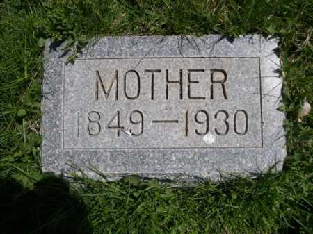 AUSTIN, MOTHER - Dawes County, Nebraska | MOTHER AUSTIN - Nebraska Gravestone Photos