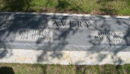 AVERY, LUTHER - Dawes County, Nebraska | LUTHER AVERY - Nebraska Gravestone Photos