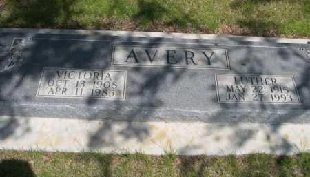 AVERY, LUTHER - Dawes County, Nebraska | LUTHER AVERY - Nebraska Gravestone Photos