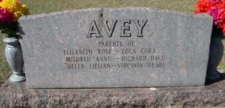 AVEY, CECIL PL - Dawes County, Nebraska | CECIL PL AVEY - Nebraska Gravestone Photos