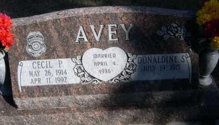 AVEY, CECIL P. - Dawes County, Nebraska | CECIL P. AVEY - Nebraska Gravestone Photos