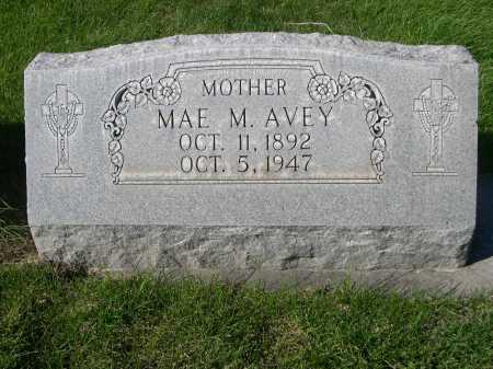 AVEY, MAE M. - Dawes County, Nebraska | MAE M. AVEY - Nebraska Gravestone Photos