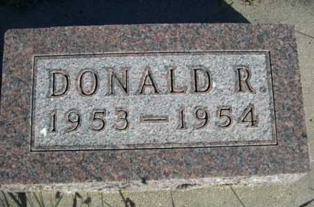 BACON, DONALD R. - Dawes County, Nebraska | DONALD R. BACON - Nebraska Gravestone Photos