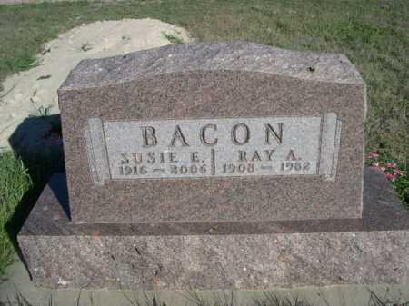 BACON, RAY A. - Dawes County, Nebraska | RAY A. BACON - Nebraska Gravestone Photos