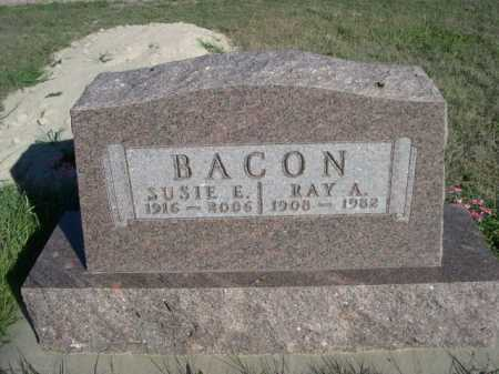 BACON, RAY A. - Dawes County, Nebraska | RAY A. BACON - Nebraska Gravestone Photos