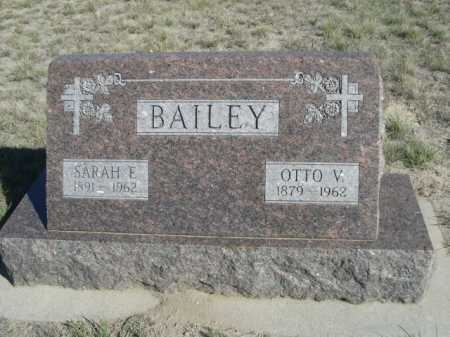 BAILEY, SARAH E. - Dawes County, Nebraska | SARAH E. BAILEY - Nebraska Gravestone Photos