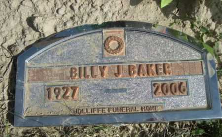 BAKER, BILLY J. - Dawes County, Nebraska | BILLY J. BAKER - Nebraska Gravestone Photos