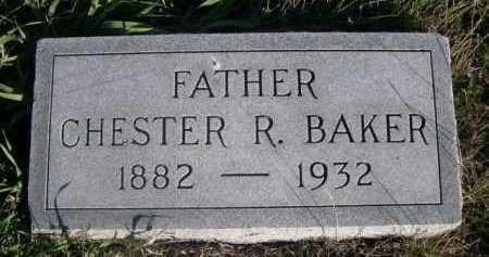 BAKER, CHESTER R. - Dawes County, Nebraska   CHESTER R. BAKER - Nebraska Gravestone Photos