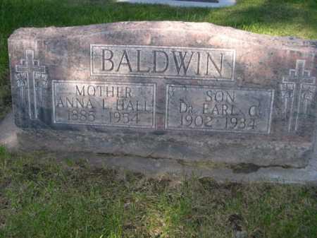 BALDWIN, ANNA L. HALL - Dawes County, Nebraska | ANNA L. HALL BALDWIN - Nebraska Gravestone Photos