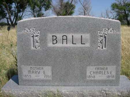 BALL, MARY E - Dawes County, Nebraska | MARY E BALL - Nebraska Gravestone Photos