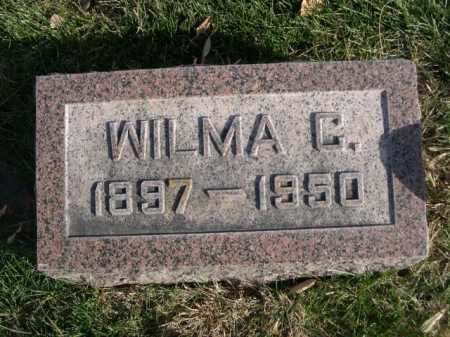 BALL, WILMA C. - Dawes County, Nebraska | WILMA C. BALL - Nebraska Gravestone Photos