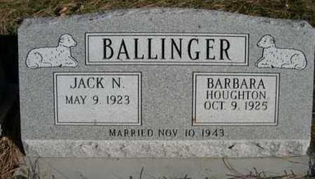 BALLINGER, BARBARA - Dawes County, Nebraska   BARBARA BALLINGER - Nebraska Gravestone Photos