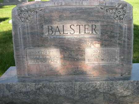 BALSTER, MINNIE A. - Dawes County, Nebraska | MINNIE A. BALSTER - Nebraska Gravestone Photos