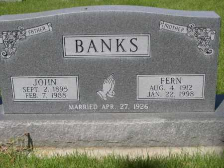 BANKS, JOHN - Dawes County, Nebraska | JOHN BANKS - Nebraska Gravestone Photos