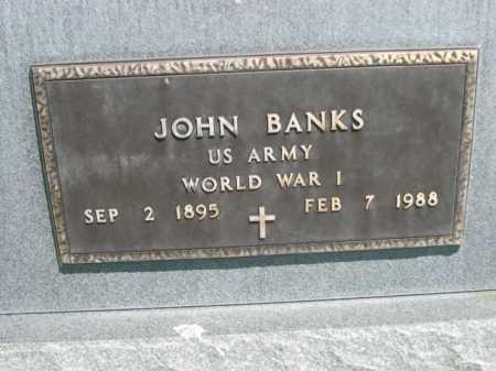 BANKS, JOHN - Dawes County, Nebraska   JOHN BANKS - Nebraska Gravestone Photos