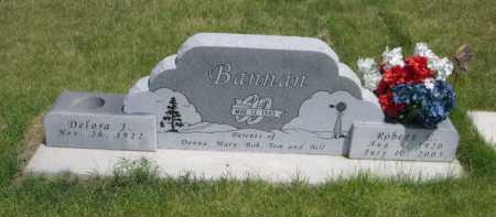 BANNAN, DELORA J. - Dawes County, Nebraska | DELORA J. BANNAN - Nebraska Gravestone Photos
