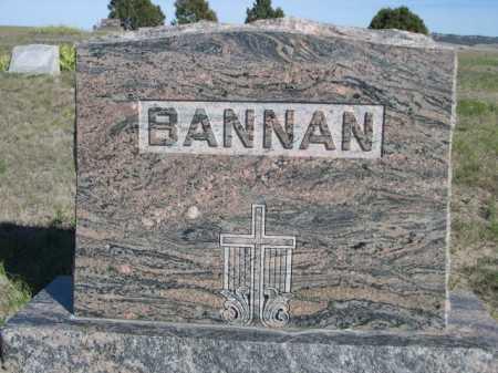 BANNAN, FAMILY - Dawes County, Nebraska | FAMILY BANNAN - Nebraska Gravestone Photos