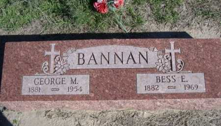 BANNAN, BESS E. - Dawes County, Nebraska | BESS E. BANNAN - Nebraska Gravestone Photos