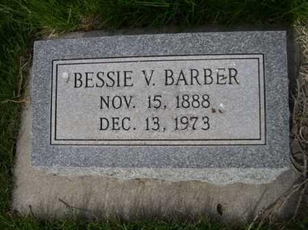 BARBER, BESSIE V. - Dawes County, Nebraska   BESSIE V. BARBER - Nebraska Gravestone Photos