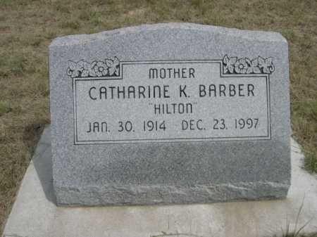 BARBER, CATHARINE K. - Dawes County, Nebraska   CATHARINE K. BARBER - Nebraska Gravestone Photos