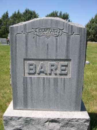 BARE, FAMILY - Dawes County, Nebraska | FAMILY BARE - Nebraska Gravestone Photos