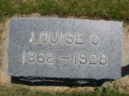 BARE, LOUISE C. - Dawes County, Nebraska | LOUISE C. BARE - Nebraska Gravestone Photos