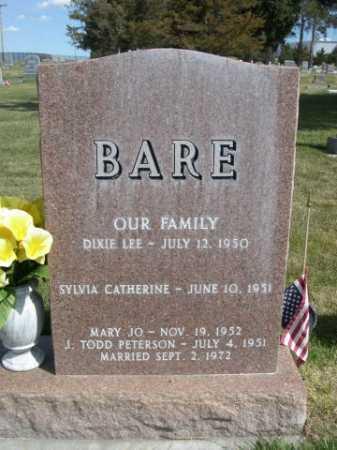 BARE, TEDDY L. - Dawes County, Nebraska   TEDDY L. BARE - Nebraska Gravestone Photos