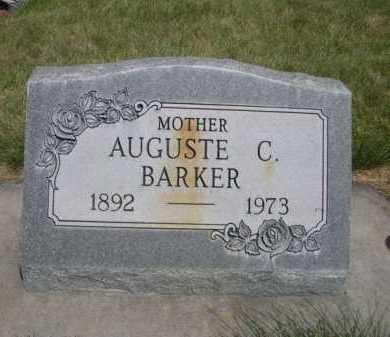 BARKER, AUGUSTE C. - Dawes County, Nebraska | AUGUSTE C. BARKER - Nebraska Gravestone Photos
