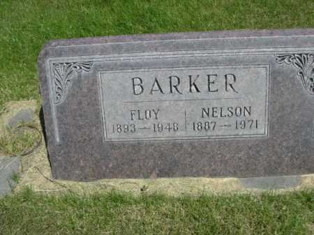 BARKER, FLOY - Dawes County, Nebraska | FLOY BARKER - Nebraska Gravestone Photos