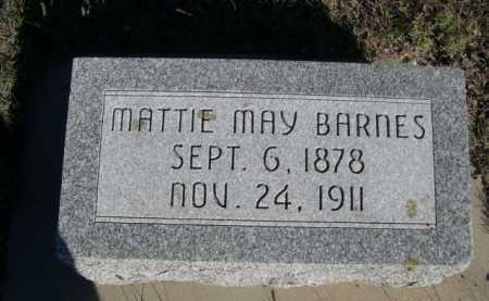 BARNES, MATTIE MAY - Dawes County, Nebraska | MATTIE MAY BARNES - Nebraska Gravestone Photos