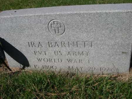 BARNETT, IRA - Dawes County, Nebraska | IRA BARNETT - Nebraska Gravestone Photos