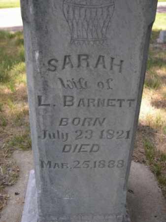 BARNETT, SARAH - Dawes County, Nebraska | SARAH BARNETT - Nebraska Gravestone Photos