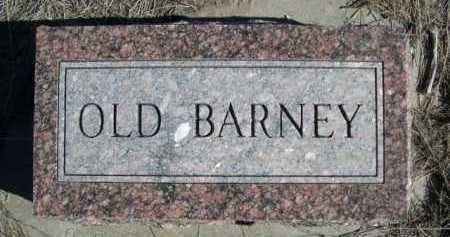 BARNEY, OLD - Dawes County, Nebraska | OLD BARNEY - Nebraska Gravestone Photos