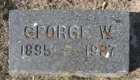 BARNGROVER, GEORGE W. - Dawes County, Nebraska | GEORGE W. BARNGROVER - Nebraska Gravestone Photos