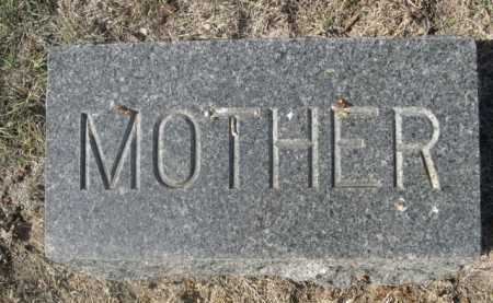 BARNGROVER, MOTHER - Dawes County, Nebraska | MOTHER BARNGROVER - Nebraska Gravestone Photos