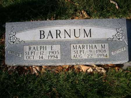BARNUM, RALPH E. - Dawes County, Nebraska   RALPH E. BARNUM - Nebraska Gravestone Photos