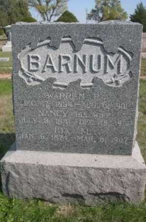 BARNUM, NANCY - Dawes County, Nebraska | NANCY BARNUM - Nebraska Gravestone Photos