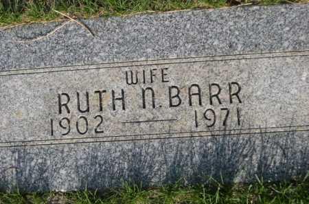 BARR, RUTH N. - Dawes County, Nebraska | RUTH N. BARR - Nebraska Gravestone Photos