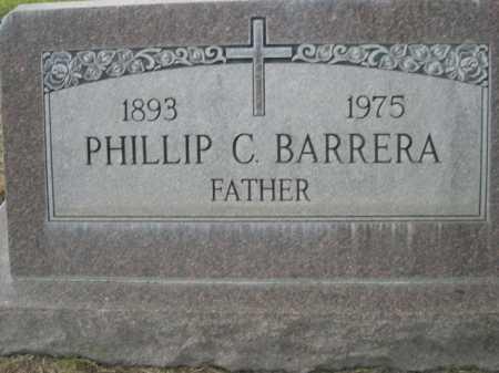 BARRERA, PHILLIP C. - Dawes County, Nebraska | PHILLIP C. BARRERA - Nebraska Gravestone Photos