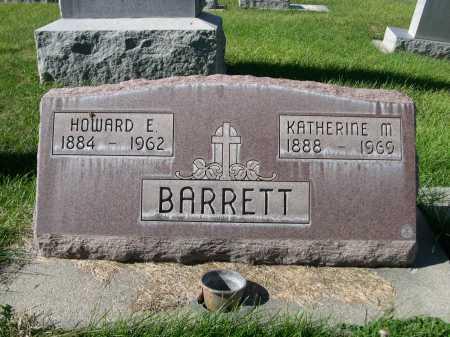 BARRETT, HOWARD E. - Dawes County, Nebraska | HOWARD E. BARRETT - Nebraska Gravestone Photos