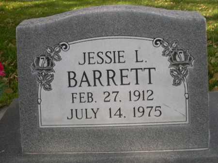 BARRETT, JESSIE L. - Dawes County, Nebraska | JESSIE L. BARRETT - Nebraska Gravestone Photos