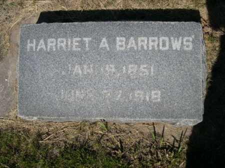 BARROWS, HARRIET A. - Dawes County, Nebraska | HARRIET A. BARROWS - Nebraska Gravestone Photos