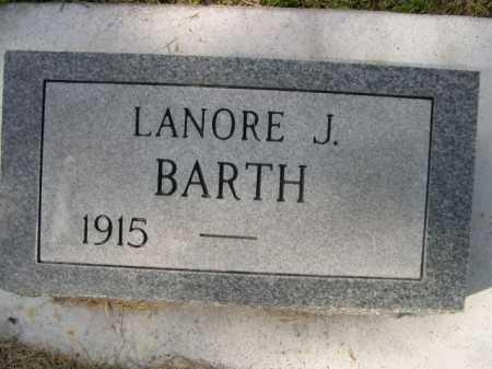 BARTH, LANORE J. - Dawes County, Nebraska | LANORE J. BARTH - Nebraska Gravestone Photos