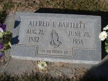 BARTLETT, ALFRED L. - Dawes County, Nebraska | ALFRED L. BARTLETT - Nebraska Gravestone Photos