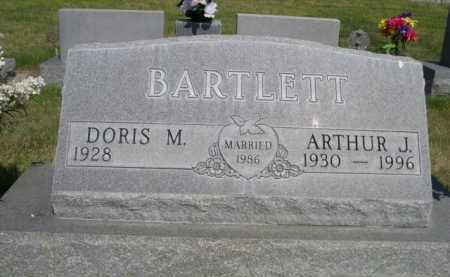 BARTLETT, ARTHUR J. - Dawes County, Nebraska | ARTHUR J. BARTLETT - Nebraska Gravestone Photos
