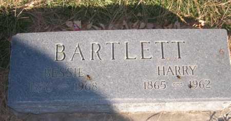 BARTLETT, HARRY - Dawes County, Nebraska | HARRY BARTLETT - Nebraska Gravestone Photos