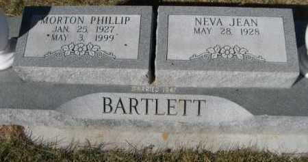 BARTLETT, MORTON PHILLIP - Dawes County, Nebraska | MORTON PHILLIP BARTLETT - Nebraska Gravestone Photos