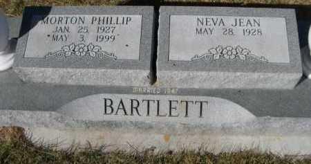 BARTLETT, MORTON PHILLIP - Dawes County, Nebraska | MORTON PHILLIP BARTLETT - Nebraska Gravestone Photos
