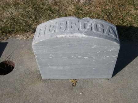 BARTLETT, REBECCA - Dawes County, Nebraska   REBECCA BARTLETT - Nebraska Gravestone Photos
