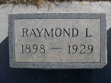 BARTLETT, RAYMOND L. - Dawes County, Nebraska   RAYMOND L. BARTLETT - Nebraska Gravestone Photos